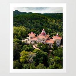 Monserrate Castle Sintra Art Print
