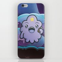 lumpy space princess iPhone & iPod Skins featuring Kawaii Lumpy Space by Squid&Pig