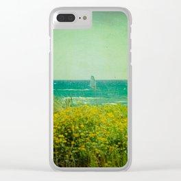 Gavà Beach Barcelona - Spain Clear iPhone Case