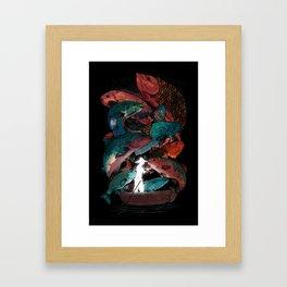 The Fishing Trip Framed Art Print