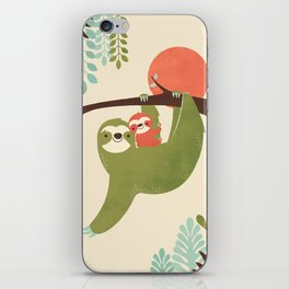 Mama Sloth iPhone Skin