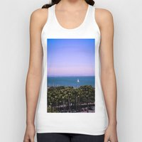 palm trees Tank Tops featuring palm trees by Jared Jung