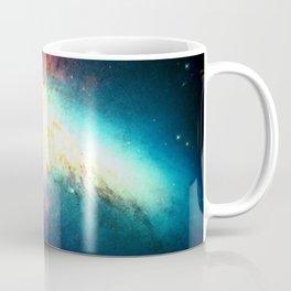 Colorful Galaxy: Messier M82 Coffee Mug