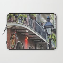 New Orleans Pirates Alley Streetlamp Laptop Sleeve