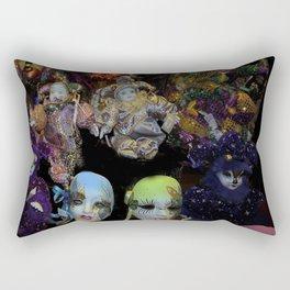 Mardi Gras Madness2 Rectangular Pillow