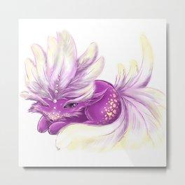 Cute little Fincy fox Metal Print
