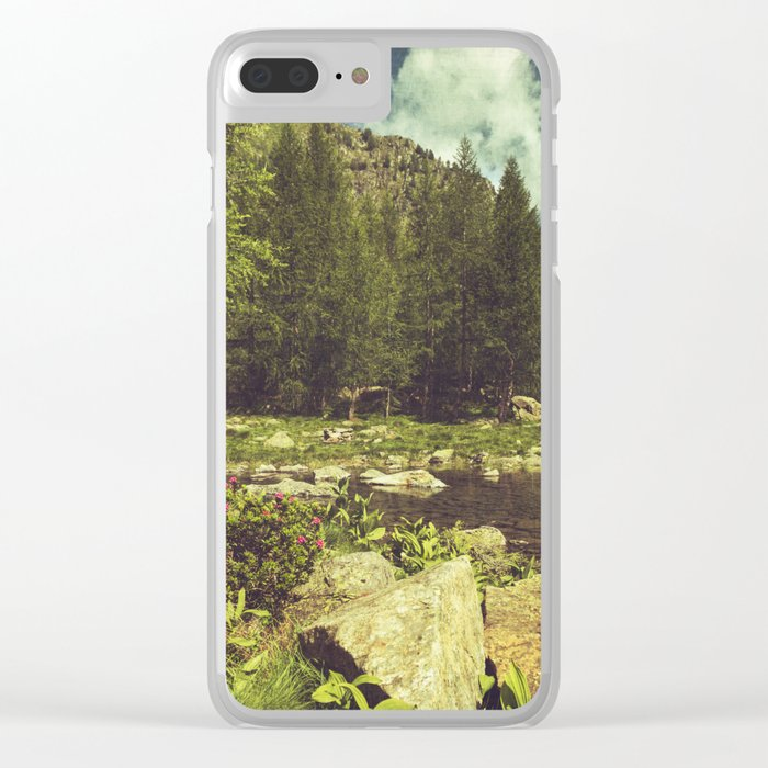 Alpine Idyll Clear iPhone Case