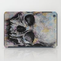 medieval iPad Cases featuring Medieval Skull by Michael Creese