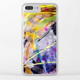 entwined paths Clear iPhone Case
