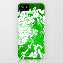 fire luffy iPhone Case