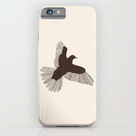 Bird (On Beige) iPhone & iPod Case