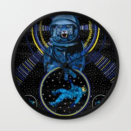 Galactic Lasers From Outer Space Adventure Wall Clock