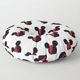 David Bowie Mouse Floor Pillow