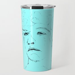 Suppress sadness 3 Travel Mug