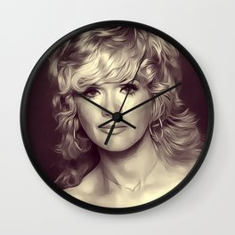 Connie Stevens, Vintage Actress Wall Clock