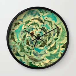 Dholphins Wall Clock