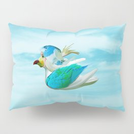 Does the end of the Parrot Pillow Sham