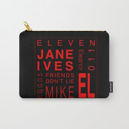 Eleven:Stranger Things Carry-All Pouch