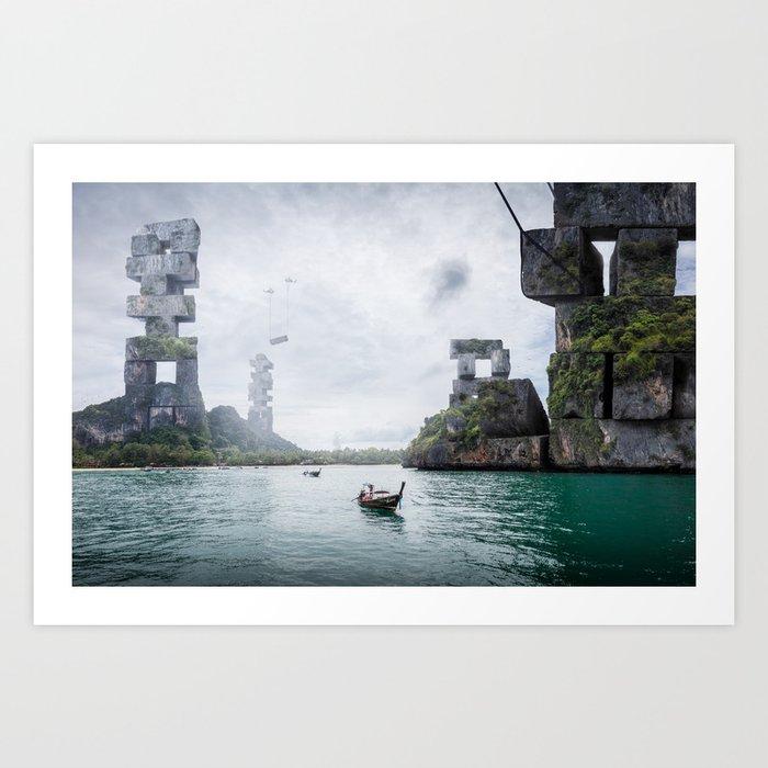 Sustainability Art Print