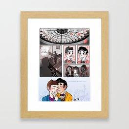 AYNIL - Comic Framed Art Print