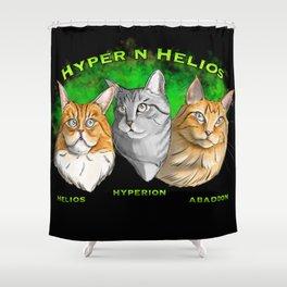 Hyper n Helios Shower Curtain