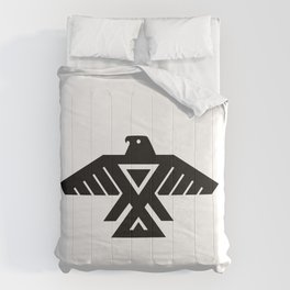 Native American Thunderbird Flag Comforters
