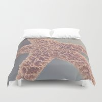 starfish Duvet Covers featuring Starfish by Jessica Torres Photography