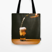 beer Tote Bags featuring Beer by Floyd Triangle