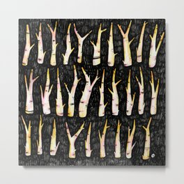 Sticks not Stones Metal Print