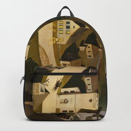 Grant Wood's The Midnight Ride of Paul Revere Backpack
