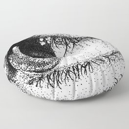 Eye See Your Point Floor Pillow