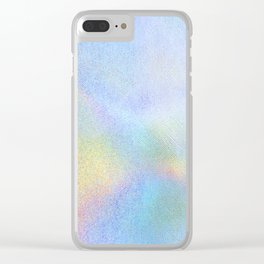 Holographic Iridescence Clear iPhone Case