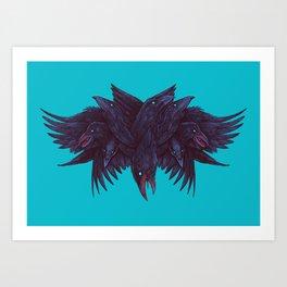 Crowberus Reborn Art Print