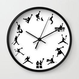 #TheJumpmanSeries, The First 12  Wall Clock