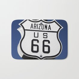 Arizona Route 66 sign Bath Mat