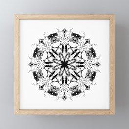 Abstract Mirror_15 Framed Mini Art Print