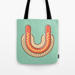 Typography series #U Tote Bag