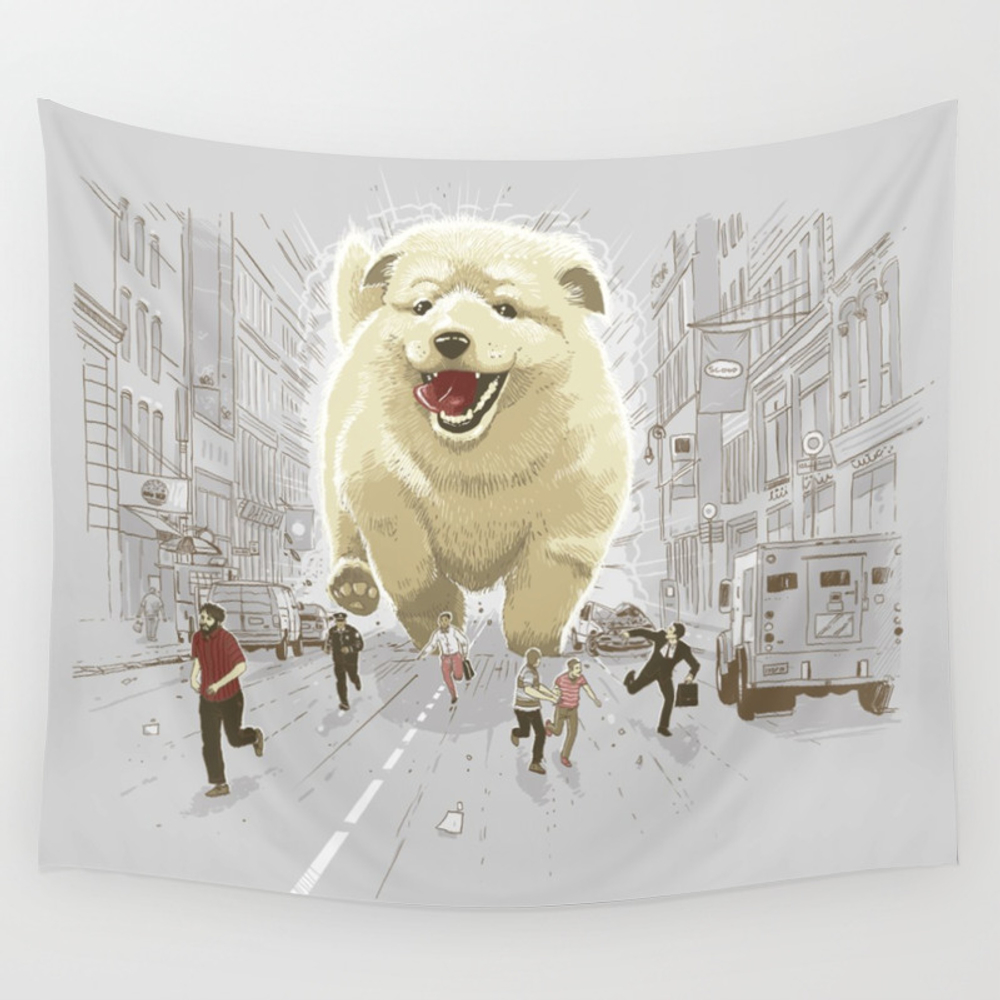 Attack Of The Cutest Monster Wall Tapestry by Lucasal8 TPS8886221