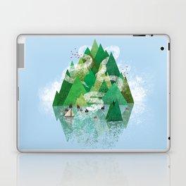 Mysterious Island Laptop & iPad Skin