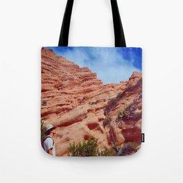 Red Rock Hike Tote Bag