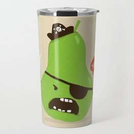 Pear-ate a.k.a The Angry Pirate Travel Mug