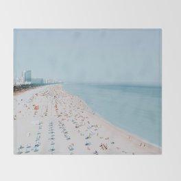 Miami Beach Throw Blanket