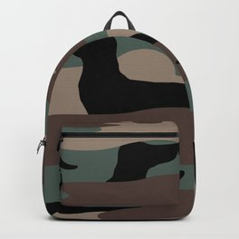 Camo Weiner Dogg Backpack