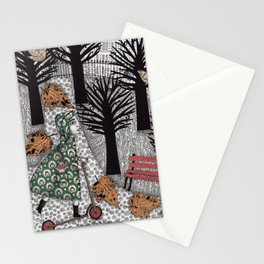 Autumn in the Park Stationery Cards
