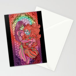 Evangelion - Mari and Asuka  Stationery Cards