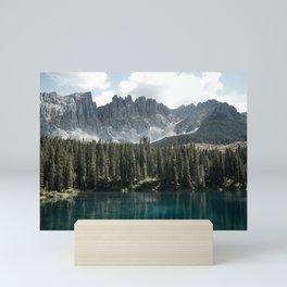 Lake Carezza - Italy -  Fine Art Landscape Photograph Mini Art Print