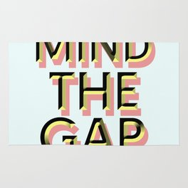 Mind the Gap Rug
