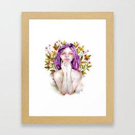 Lie to Me Framed Art Print