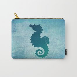 Seahorse of a Different Color ~ Marine Life ~ (Copyright 2015) Carry-All Pouch