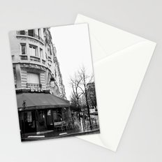 Parisian Cafe Stationery Cards
